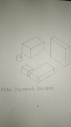 Plan isometric floor plan